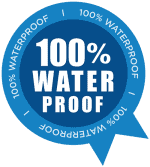 Waterproof leakproof guarantee