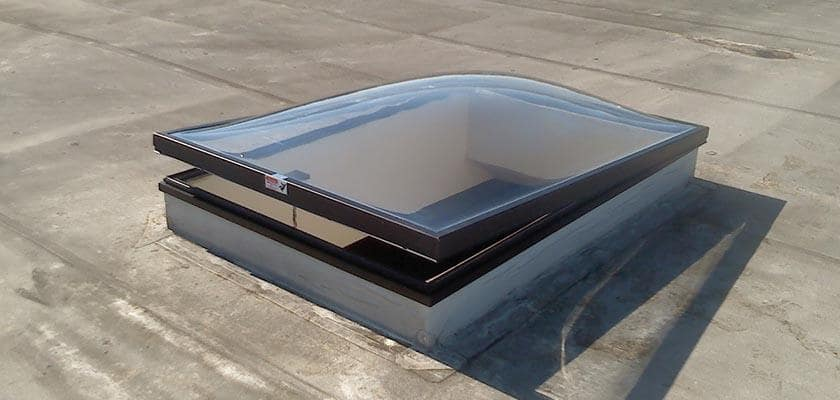 Venting Dome skylight replacement