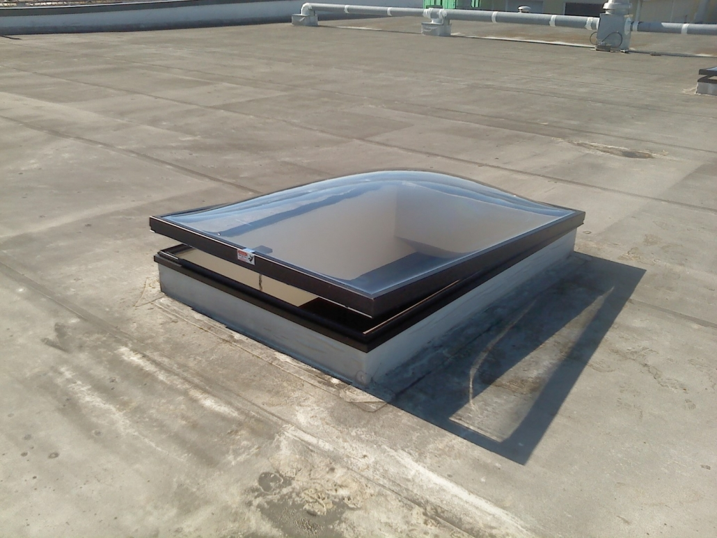 Venting Clear Dome skylight