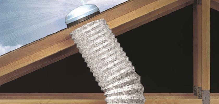 Solar tube sun tunnel skylight