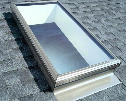 Deck Mounted Velux Skylight Replacement